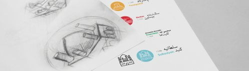 طراحی برند بناهای میراث جهانی ایران ثبت یوسنکو