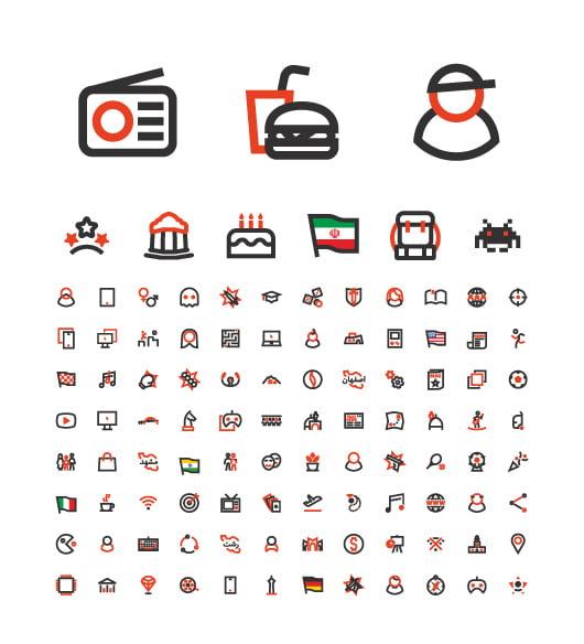 05 - طراحی هویت بصری و کتاب برند پژوهشگاه بنیاد ملی بازی های رایانه ای