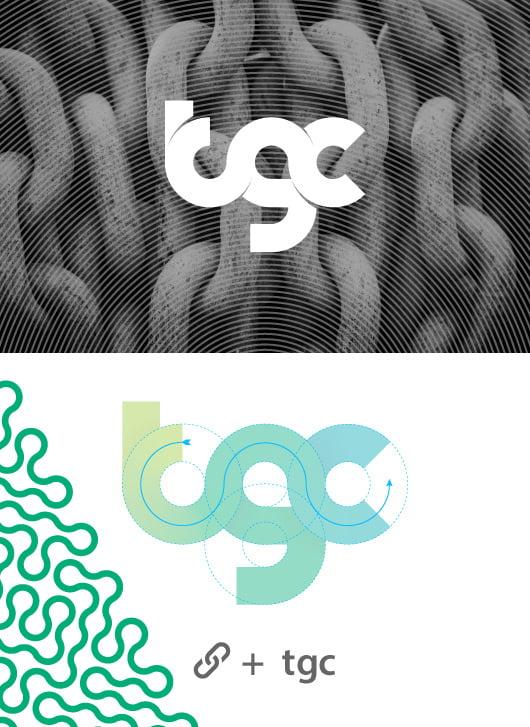 001 - طراحی برند و هویت بصری رویداد TGC