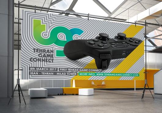 004 - طراحی برند و هویت بصری رویداد TGC