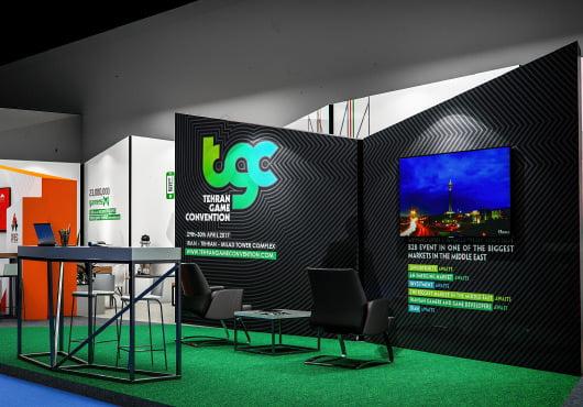 008 - طراحی برند و هویت بصری رویداد TGC