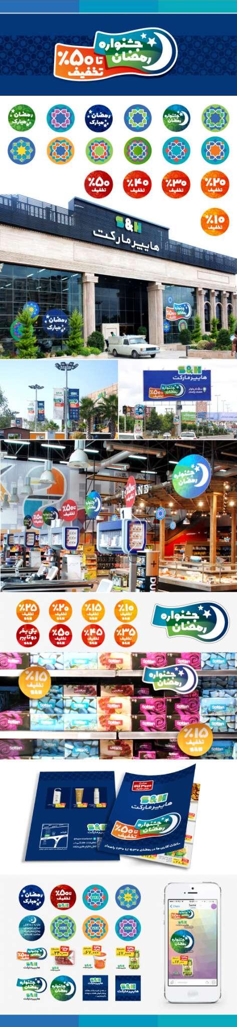 3 - طراحی کمپین های بازاریابی هایپرمارکت های زنجیره ای S&H