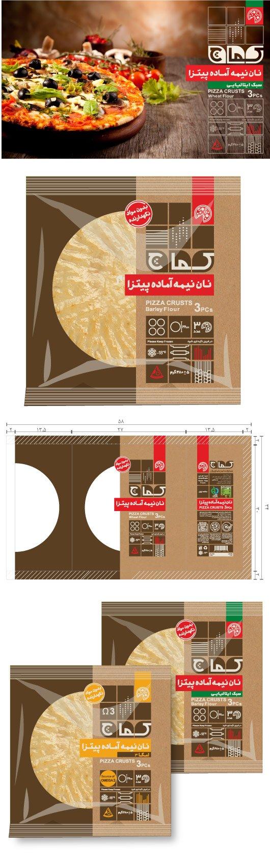 7 - طراحی برند و هویت بصری برند نان کماچ